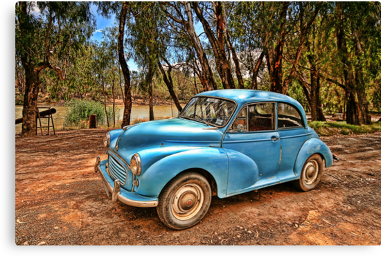 Morris Minor by Ross Jardine