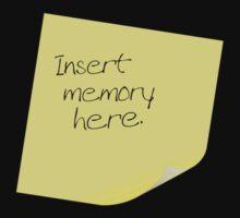 Insert Memory Here by Marnie Hibbert