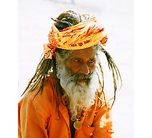 Sadhu India Photographic Print
