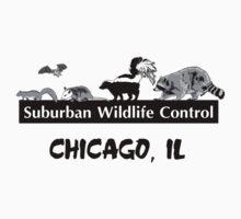 Suburban Wildlife Control - Chicago, IL tee One Piece - Short Sleeve