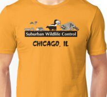 Suburban Wildlife Control - Chicago, IL tee Unisex T-Shirt