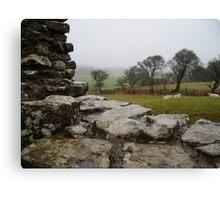 ogmore castle outlook Canvas Print