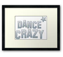 DANCE CRAZY! star Framed Print