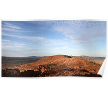 pilbara topography Poster
