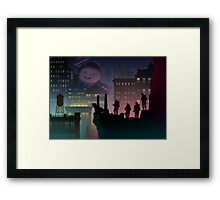 It Just Popped In There! Framed Print