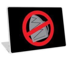 DO NOT IRON Laptop Skin