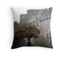 Red Berry Tree Throw Pillow