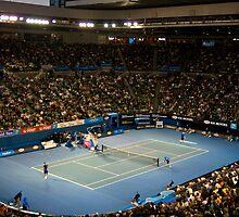 Night Tennis by Chris Putnam