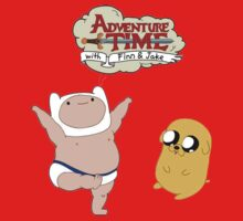 Adventure Time Baby Finn and Jake Kids Tee