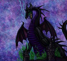 Dragon Maleficent by Kimberly Castello