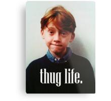 Ron Weasley Thug Life Metal Print