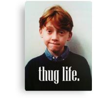 Ron Weasley Thug Life Canvas Print