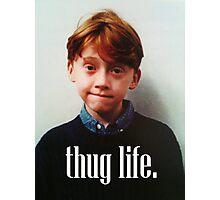 Ron Weasley Thug Life Photographic Print