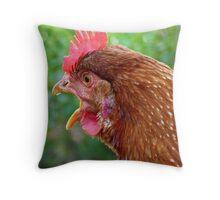 I Laid an EGG! - Red Hen - NZ - Southland Throw Pillow