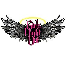 Girls Night Out - Pink Photographic Print