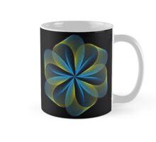 Simple Blue and Yellow Design Mug