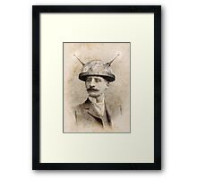 Dr Lampwicke's Amazing Mind Machine Framed Print