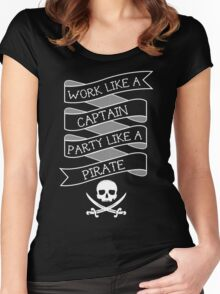 Party like a Pirate Women's Fitted Scoop T-Shirt