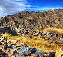 Sears-Kay Ruins Tonto National Forest by Roger Passman