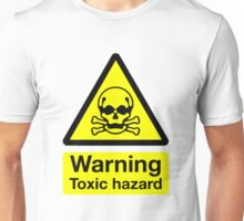 Warning Toxic Hazard : T Shirt by Simon Griffiths Unisex T-Shirt