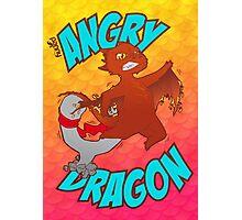 Angry Dragon Photographic Print