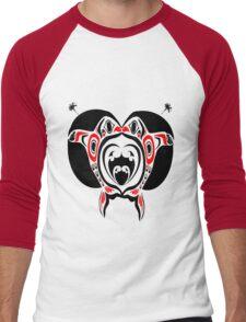 Love Whales Men's Baseball ¾ T-Shirt