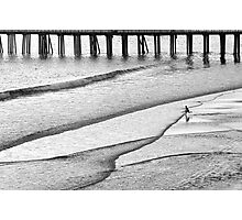 Skim Surfing Photographic Print