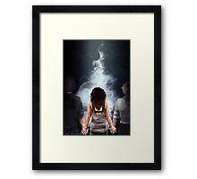 Zed's Powers Framed Print