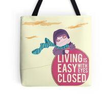 living is easy Tote Bag