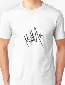 Matty Healy Autograph Unisex T-Shirt