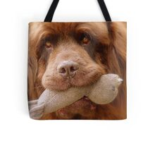 Pleeeese! come play with us - Big Doggy - NZ Tote Bag