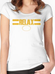 Relax Green Bay Women's Fitted Scoop T-Shirt