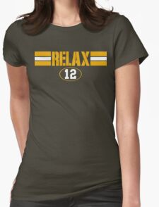 Relax Green Bay Womens Fitted T-Shirt