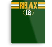Relax Green Bay Metal Print
