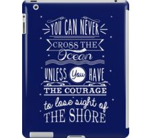 CROSS THE OCEAN iPad Case/Skin