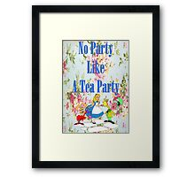 No Party Like This Framed Print
