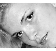 The Blond... Photographic Print