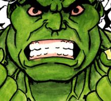 The Incredible Hulk Tattoo Flash Sticker
