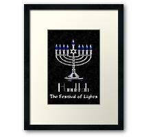 Hanukkah - The festival of Lights Framed Print