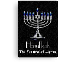 Hanukkah - The festival of Lights Canvas Print