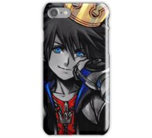 Sora noir - Kingdom Hearts 1.5 iPhone Case/Skin
