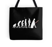 The Dark Side Of Evolution - White  Tote Bag