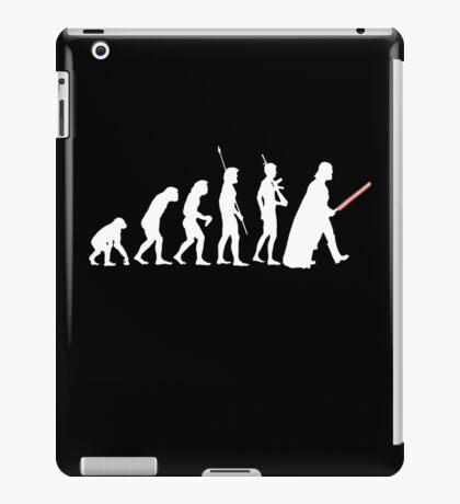 The Dark Side Of Evolution - White  iPad Case/Skin