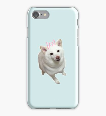 shibe dogs happy iPhone Case/Skin