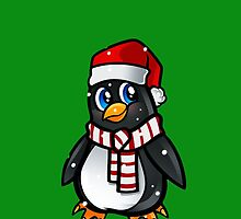 Christmas Penguin by Deejayz