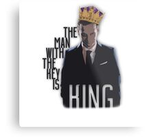 Moriarty - The Man with the Key is King Metal Print