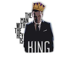 Moriarty - The Man with the Key is King Photographic Print