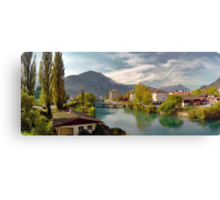 Interlaken Panorama Canvas Print
