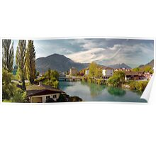 Interlaken Panorama Poster