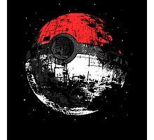 Pokeball DS Spaceship Photographic Print